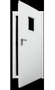 двери противопожарные с остеклением ДПМО 01х60